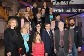 BGM Kandidat Kleespies im Dialog auf Vernissage