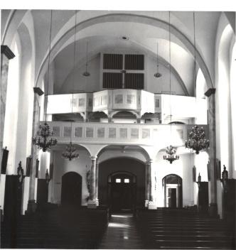 alte Orgel am 20.07.1983
