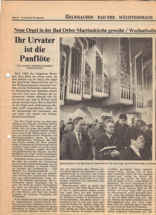 Frankfurter Rundschau vom 18. April 1987 ...