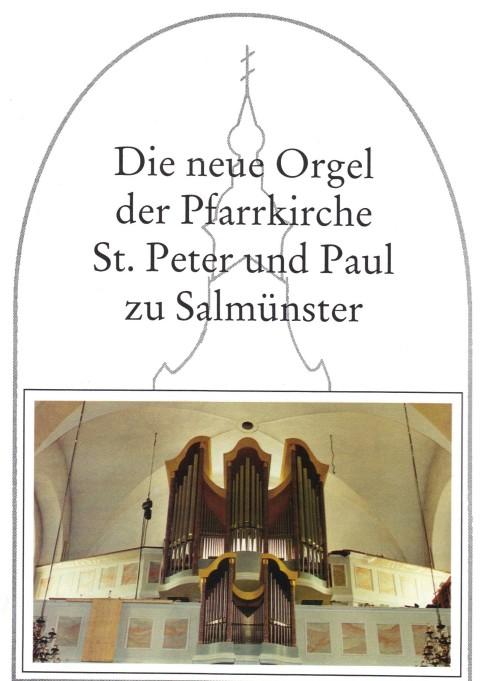 Festschrift zur Orgelweihe