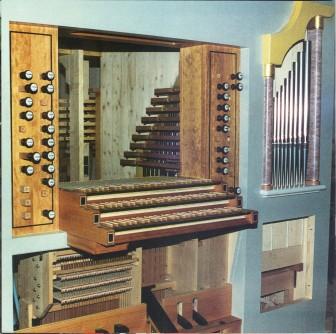 Festschrift zur Orgelweihe: Bauzustand der Orgel