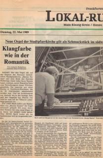 Artikel aus der Frankfurter Rundschau
