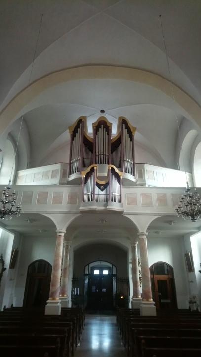 ... und Orgel heute
