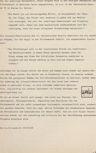 ... unter besonderer Berücksichtigung des liturgischen Orgelspiels