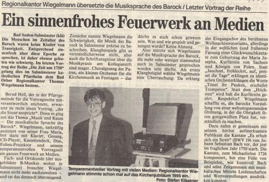 ... und den KN zum Vortrag von Thomas Wiegelmann